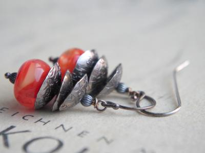 *SOLD OUT* Silver bells (orange)