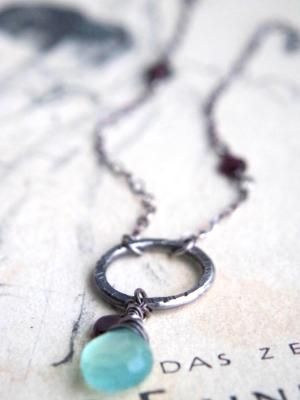 *SOLD OUT* Aqua necklace