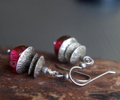 *SOLD OUT* Silver bells in Cranberry