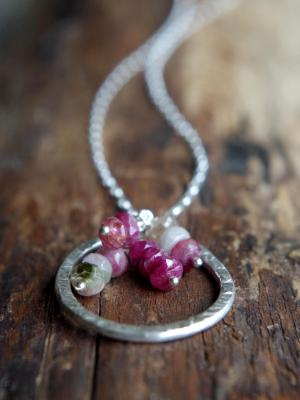 *SOLD OUT* Tourmaline and Sterling Silver necklace