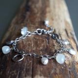 Stargazer - Sterling Silver gemstone bracelet
